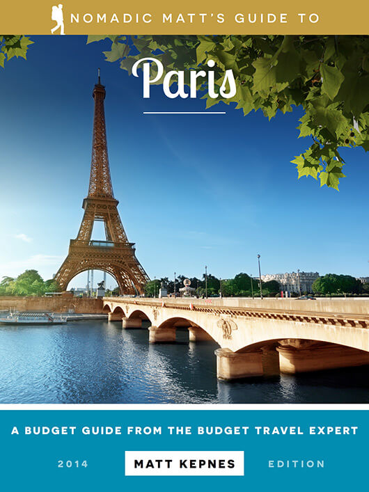 nomadic matt's guide to paris