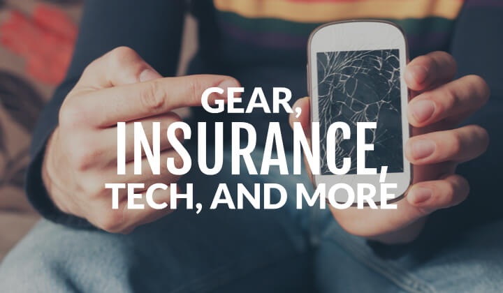 gear and tech when journeying abroad