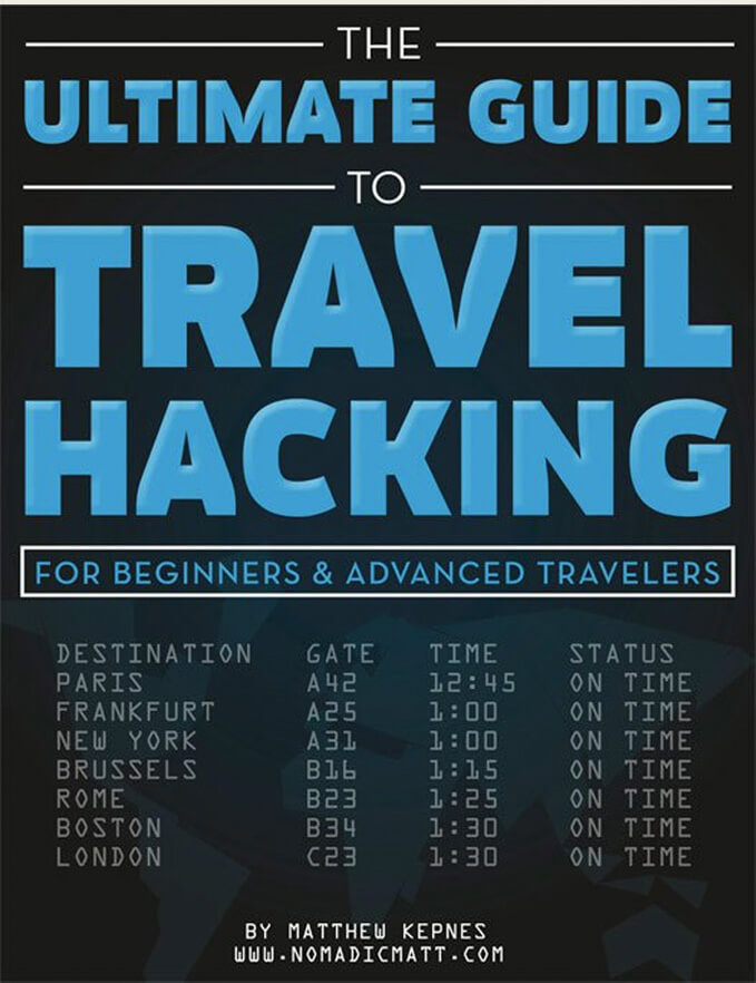 travel hacking book