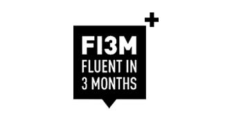 fluent in 3 months logo