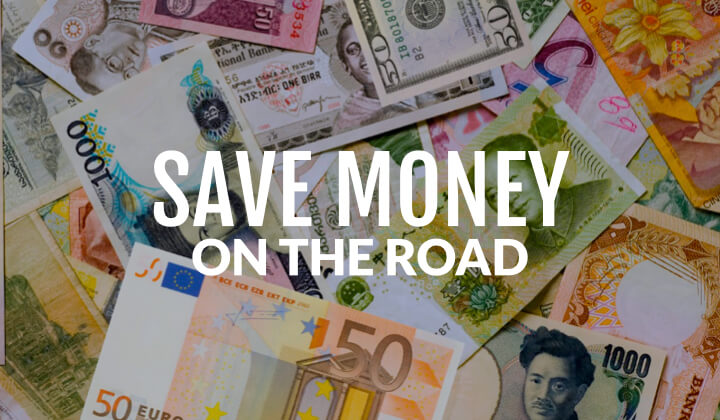 advice on saving money while traveling