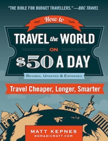 nomadic matt's travel secrets book