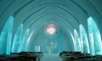 Unusual Place of the Month: The Swedish Ice Hotel