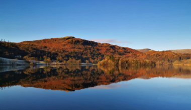 The serene Lake District in the UK