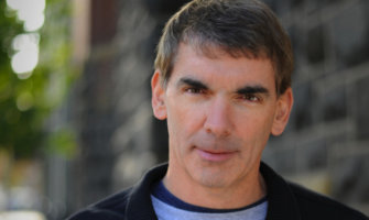 A photo of author Chuck Thompson