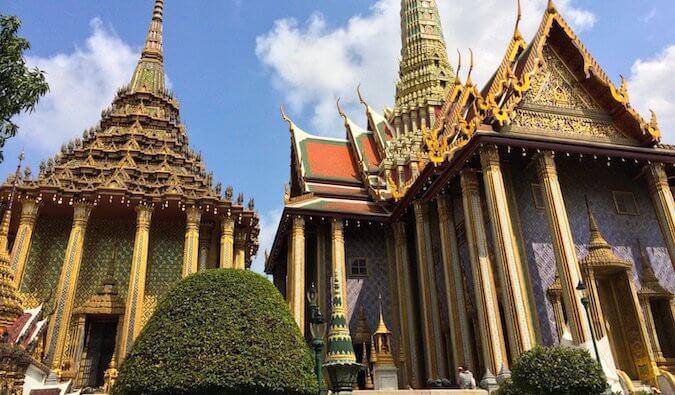 The Royal Palace in Bangkok, Thailand