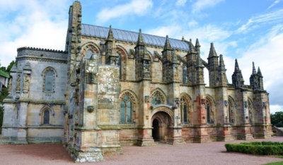 Rosslyn Chapel in Scotland
