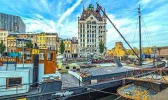 Rotterdam, Amsterdam's Rival City