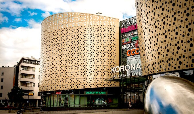 A picture of a mall in Sweden
