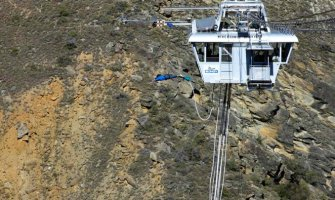 Bungy Jumping the Nevis
