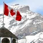 Of Americans, Canadians, and Flags