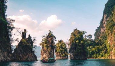 Khao Sok National Park in Thailand