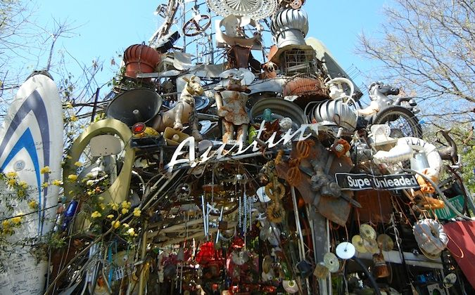 Cathedral of Junk in Austin, TX