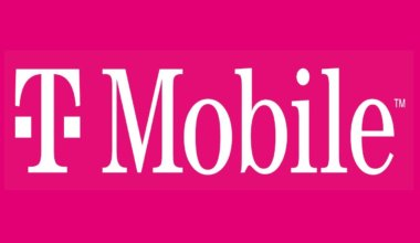 The pink T-Mobile logo