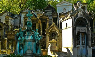 Walking Among the Dead at Père Lachaise Cemetery