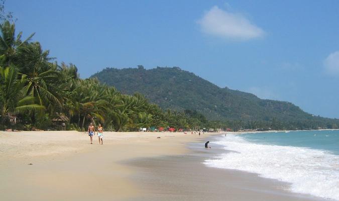 A beach in Ko Samui Thailand