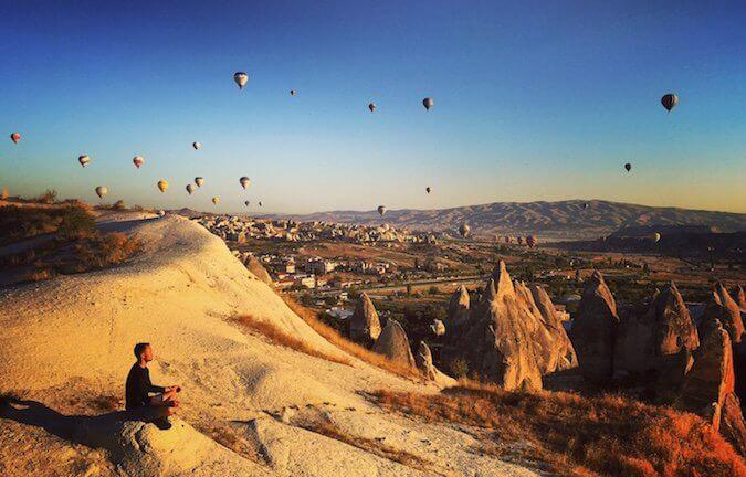 Scott Dinsmore in Turkey