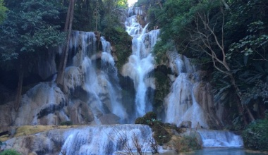 The Secret Pool of Kuang Si Waterfall