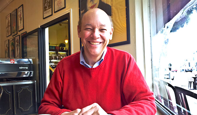 Photo of travel writer Don George