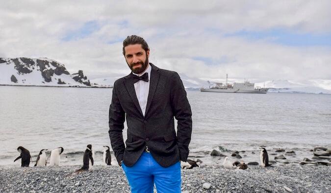 Jon Levy in Antartica