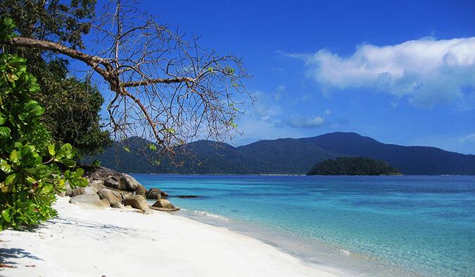 Ko lipe Beach in Thailand