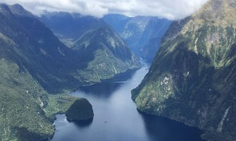 Flying High in New Zealand's Fiordland