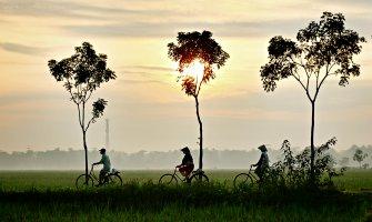 Biking the Mekong Delta in Vietnam