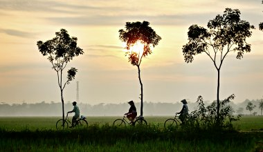 Biking the Mekong Delta in Vietnam