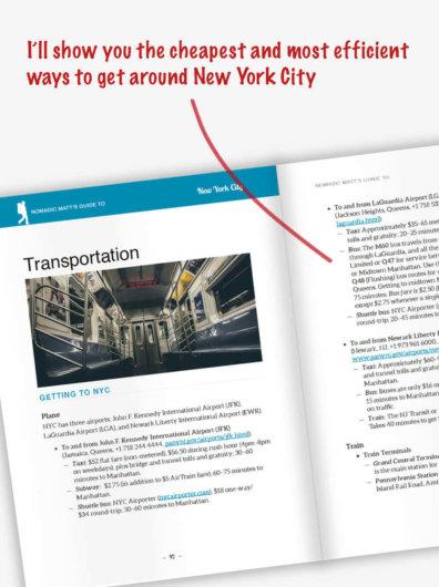 Nomadic Matt's Guide to New York City