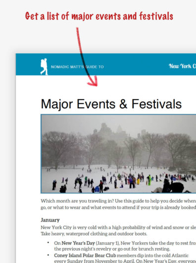 New York City Events and Festivals
