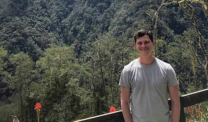 Nomadic Matt in Colombia