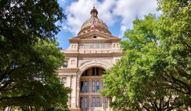 An old government building in Austin, Texas