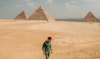 Jeremy from Travel Freak in Egypt