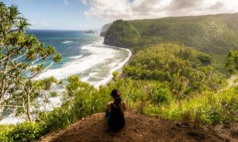 Kristin Addis in Hawaii