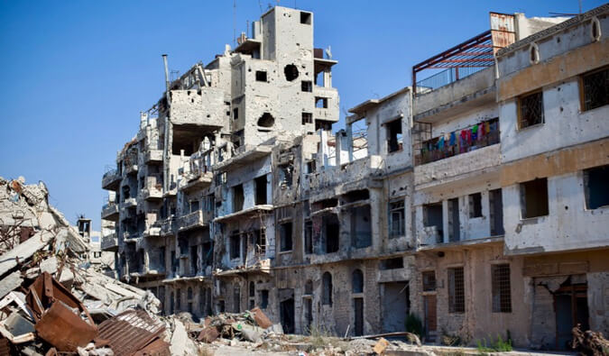 You Should NOT Visit Syria Right Now - nomadic matt