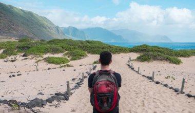 matt looking out over hawaii