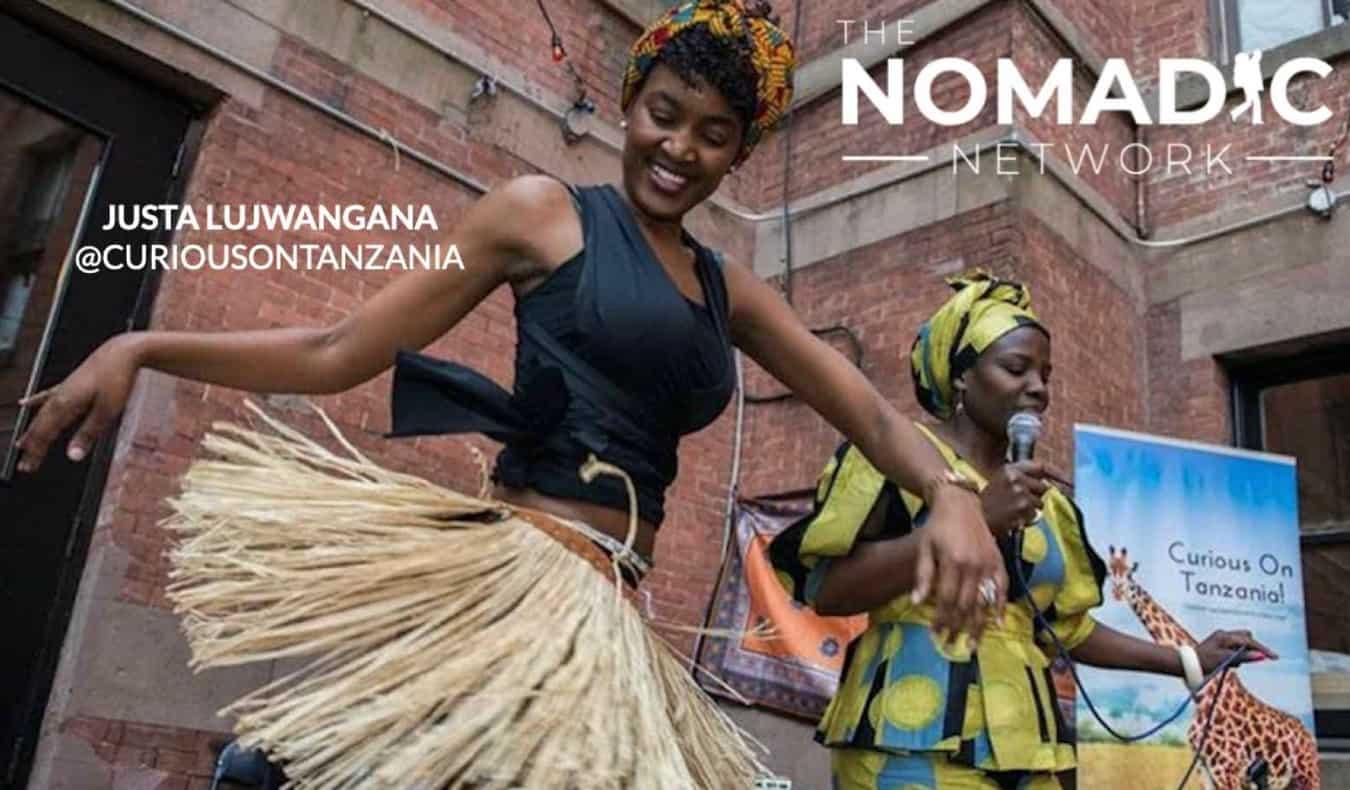 Tanzanian women dancing