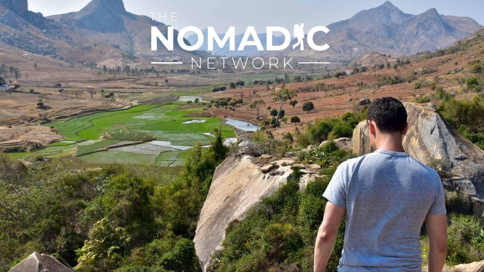 Nomadic Matt posing in Africa