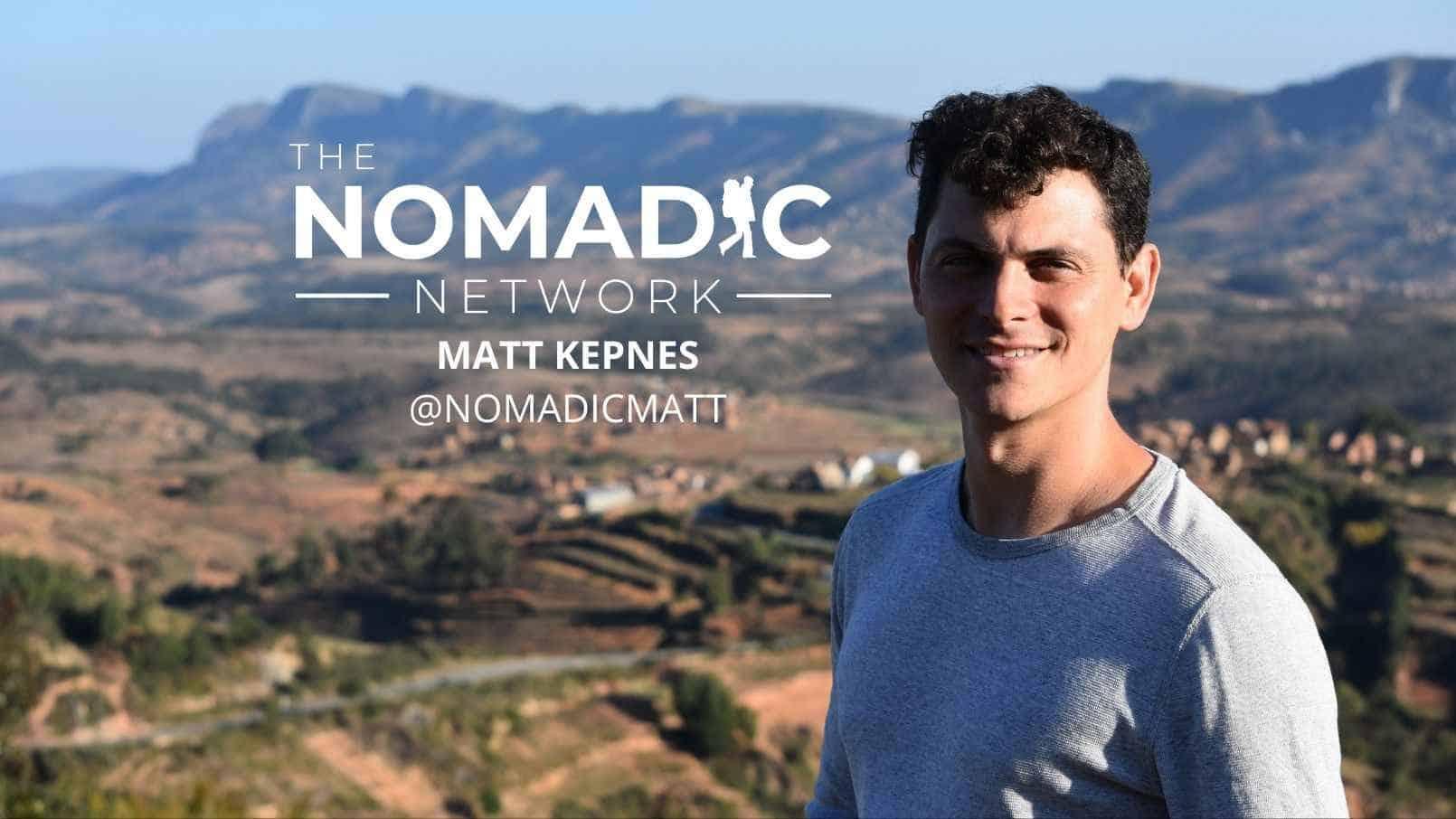 Nomadic Matt in Africa