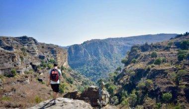 Noamdic Matt hiking in Madagascar