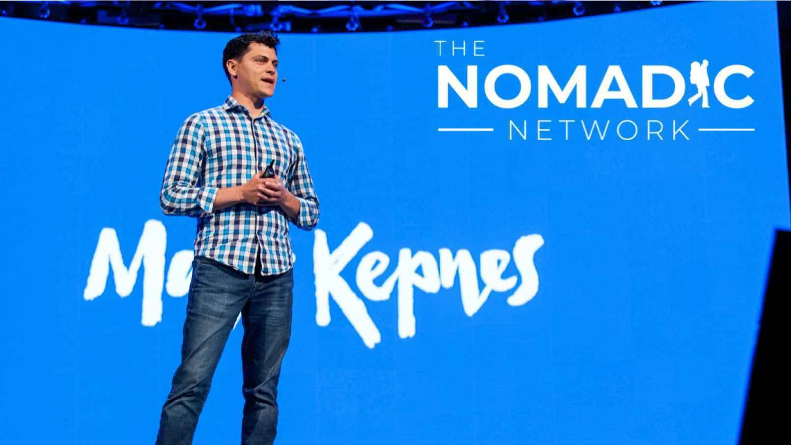 Noamdic Matt speaking at a conference