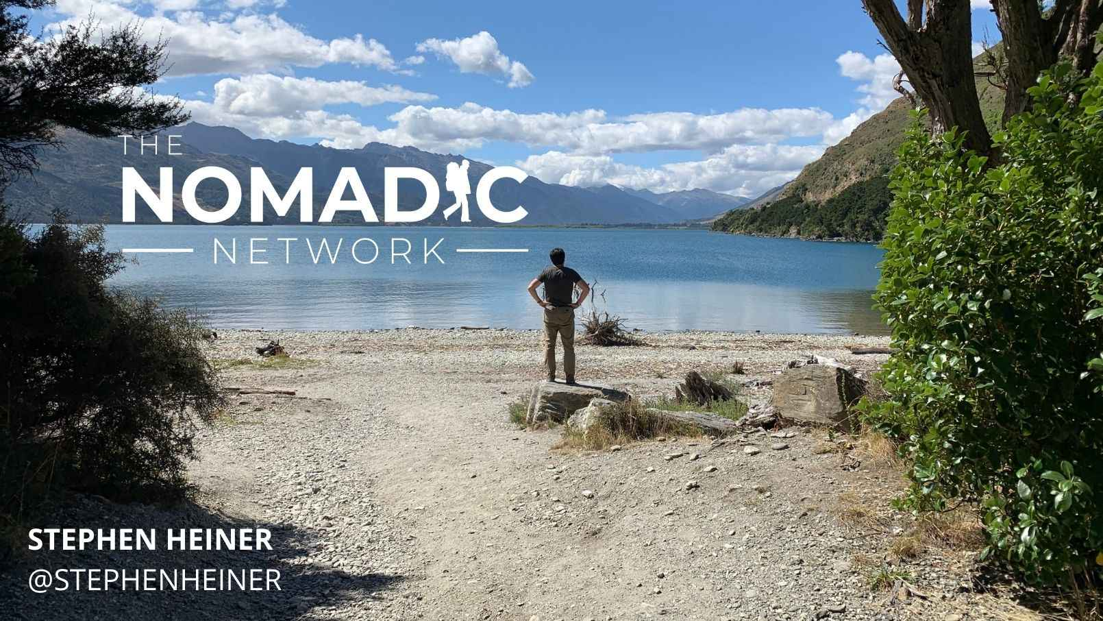 A solo male traveler in New Zealand