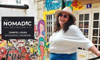 A solo female traveler in lisbon