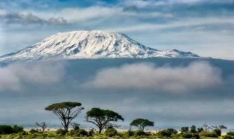 Mount Kilimanjaro in Tanzania, Africa