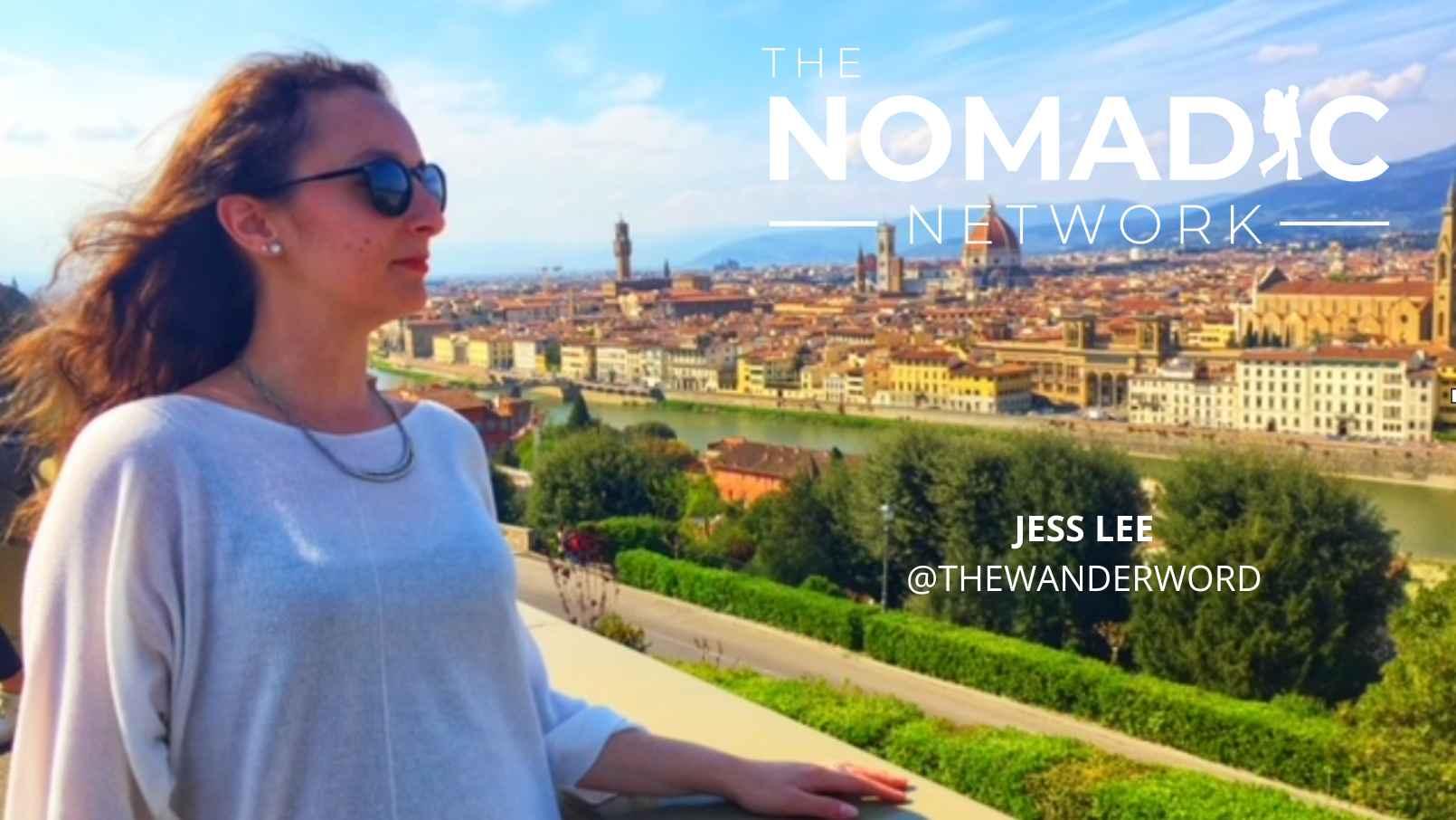 woman overlooking the Italian countryside