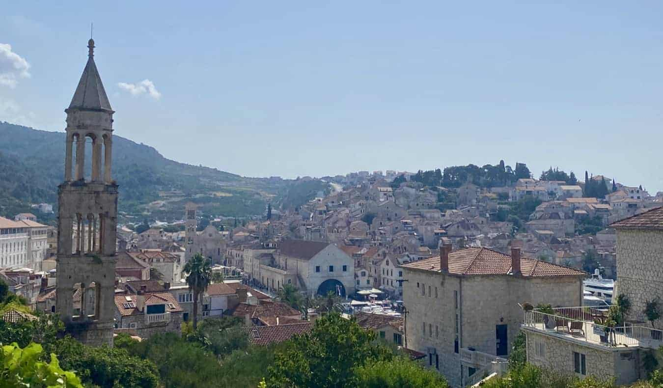 The historic old town in Dubrovnik, Croatia